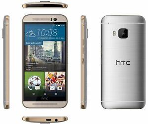 HTC ONE M9 GOLD ON SILVER 32GB gebraucht Gut  neutrale Verpackung