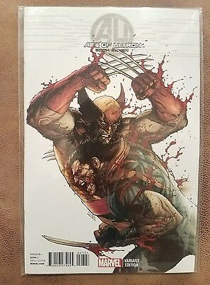 2013 Series AGE OF ULTRON #7 VARIANT 1:50 NM Comics Book Wolverine AVENGERS