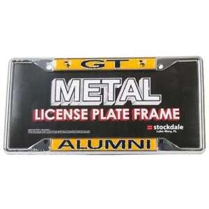 Georgia Tech Yellow Jackets Alumni Metal License Plate