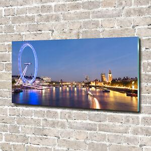 Acrylglas-Bild-Wandbilder-Druck-140x70-Deko-Sehenswurdigkeiten-London-Eye