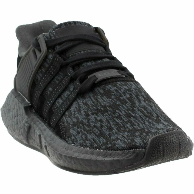 145e597413e23 adidas EQT Support 93 17 Mens BY9512 Black Knit Boost Running Shoes ...