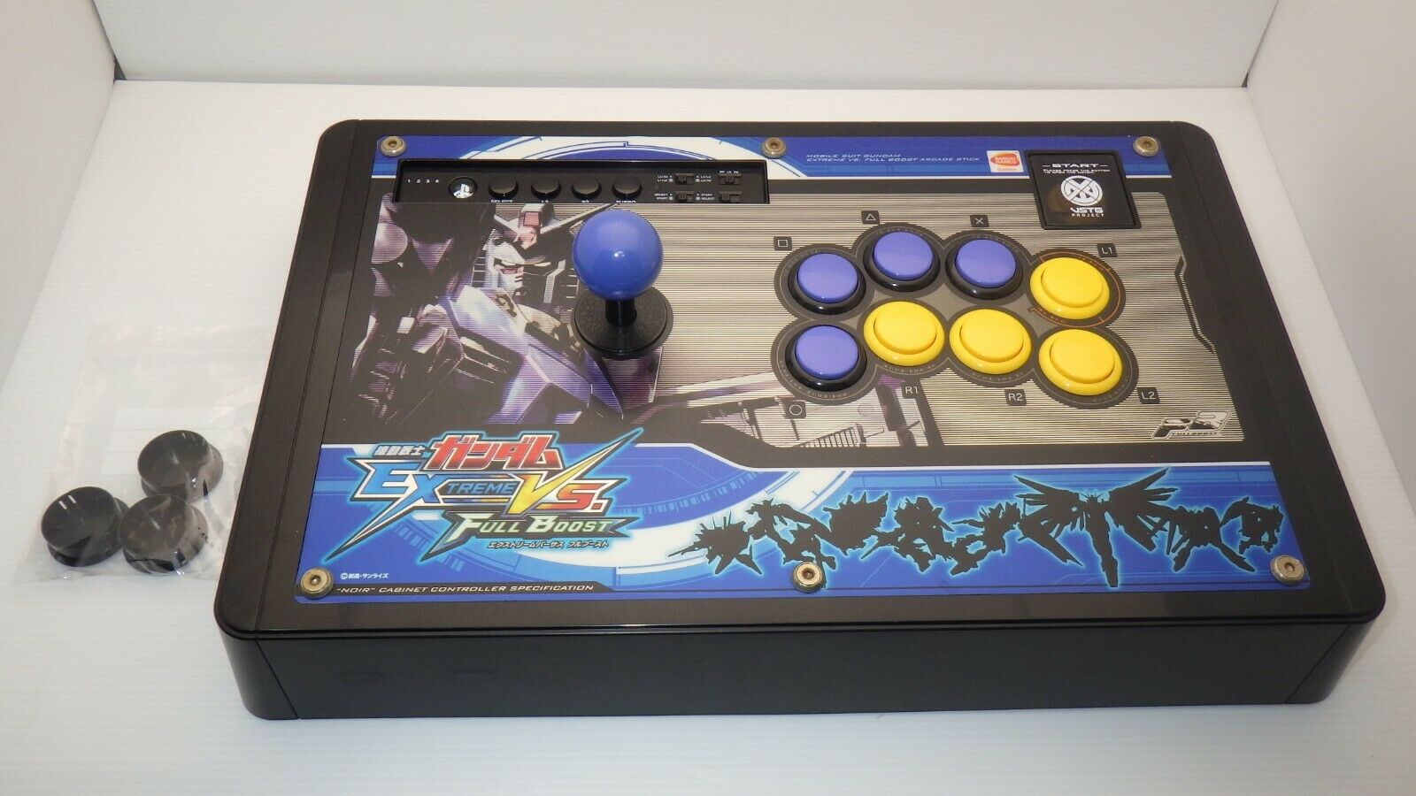 PlayStation3,4 PS3,4 Gundam Extreme VS. Full Boost Arcade Stick TESTED / 10988