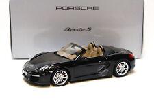 1:18 Minichamps Porsche Boxster S basalt black DEALER NEW bei PREMIUM-MODELCARS