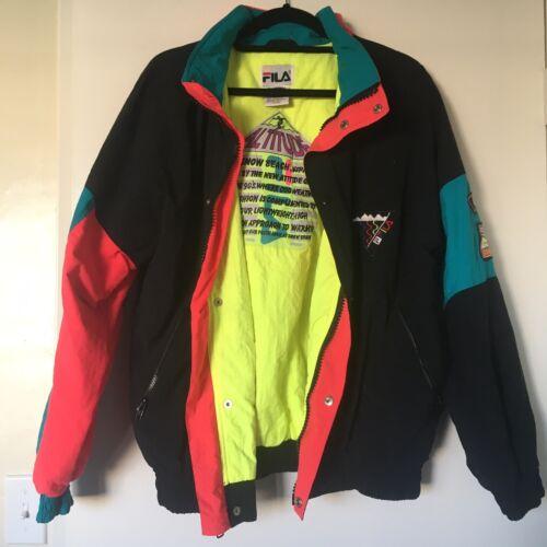 Vintage FILA 90s Ski Snow Beach 3M Jacket