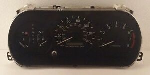 97-01 TOYOTA CAMRY 2.2L SPEEDOMETER INSTRUMENT CLUSTER 83800-06010 121,442 MILES