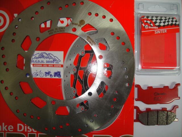 Frein à Disque Brembo + Plaquettes avant Yamaha 125 XV S Virago 1999 2000 2001