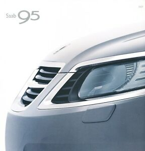 Aero Turbo XWD 2011 SAAB 95 9-5 Original Car Sales Brochure Catalog