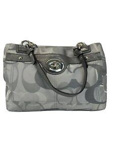 Coach-Gray-Penelope-Optic-Signature-Carryall-Canvas-And-Leather-Handbag-F17140