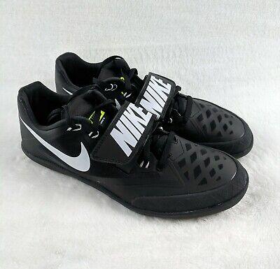 puhdistushinnat laaja valikoima viimeisin alennus Nike Zoom Rival SD 4 Shot Put Discus Throwing Shoes Men Size 9 Black  685135-017   eBay