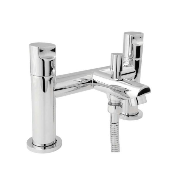 Deva ADORE106//G Adore Gold Deck Mounted Bath Shower Mixer Tap inc Hose /& Handset