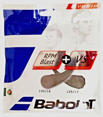 Babolat Hybrid RPM Blast Rough 17 Free Express Shipping VS 16 String