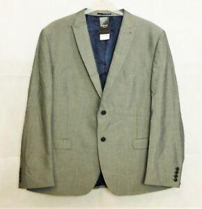 NEXT Hellgrau Anzug Jacke 48R TD171 Tt 03