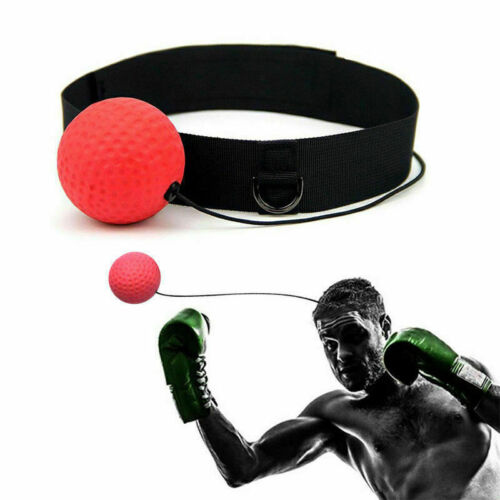 Training Boxer Fight Ball Head Band Reflex Speed Boxing Punching Workout Ball