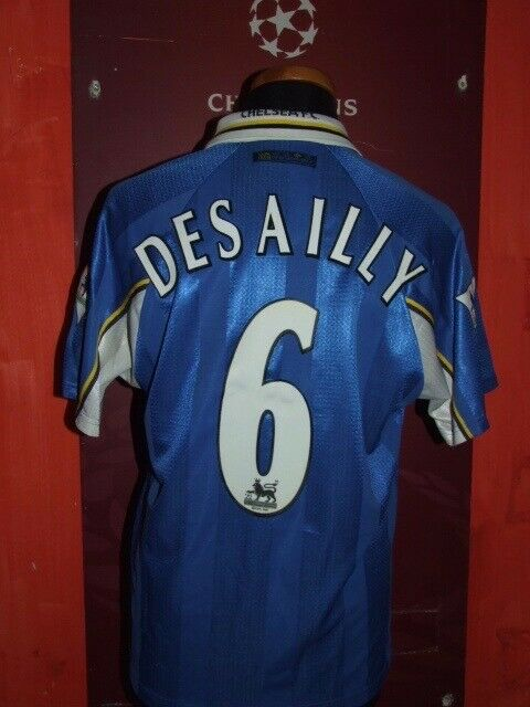 DESAILLY CHELSEA 19971998 MAGLIA SHIRT CALCIO FOOTBALL MAILLOT JERSEY SOCCER