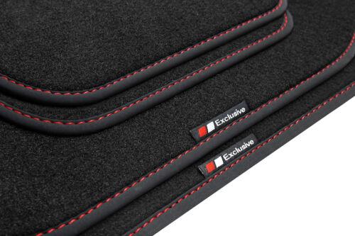 Exclusive-line Design Fußmatten für Audi A6 4B Bj 1998-2005