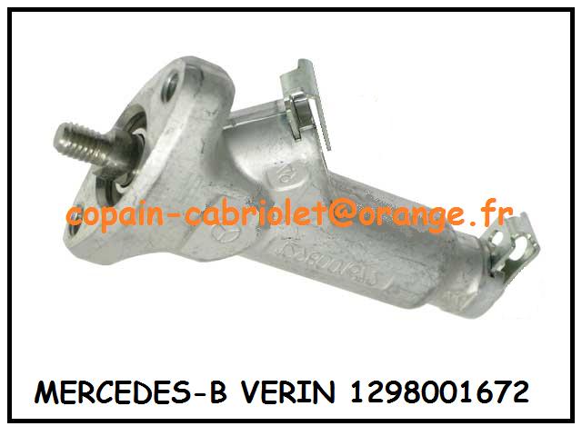 Kit joints de tige de vérin  Mercedes -B SL R129 1298001672  129 800 1672