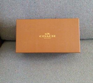 COACH-Gift-Shoe-Box-11-1-8-034-X-6-034-x-4-25-034