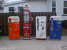 Restored Antique Coca Cola Coke Machines Vendo 81 A 81 B 81 D CAV72 VMC PEPSI 81