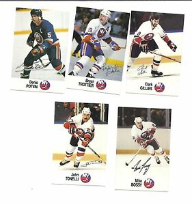 RARE-1988-89-NEW-YORK-ISLANDERS-ESSO-CARD-LOT