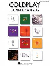 Coldplay The Singles & B-Sides Sheet Music Vocal Piano Book NEW 000306902
