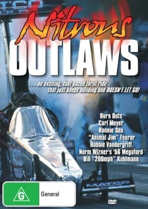 NITROUS OUTLAWS - SUPERCHARGED CARS - DVD - NEW -