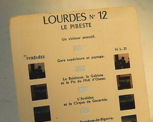 Carte-Stereoscopique-ROMO-LOURDES-N-12-Le-PIBESTE-Stereofilms-en-couleurs