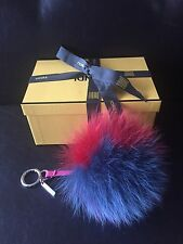 Rare Fendi Fox Fur Bag Charm NWOT