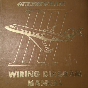 gulfstream g iii wiring diagram manuals a 2 vol set ebay rh ebay com