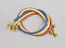 "Yellow Jacket 22986 PLUS II 72"" Charging Hose (RYB) 3-Pack w/ SealRight™ Fitting"
