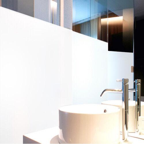 Milchglasfolie Weiß Weiß Weiß Opak Innenmontage (Rollenbreite 152cm) 53cf92
