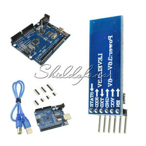 ATmega328P-CH340G-UNO-R3-Board-HC-05-06-Bluetooth-Module-for-DIY-W-Cable