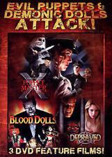 Evil Puppets & Demonic Dolls Attack! (DVD, 2013 New