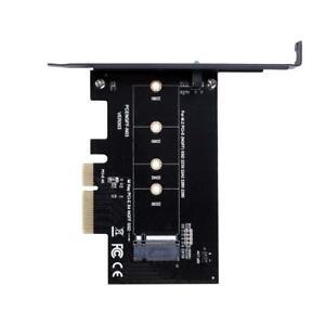 Fuer-m-2-PCI-E-SSD-NGFF-SSD-2230-2242-2260-2280-Karte-M-Schluessel-PCI-E-x4-NG