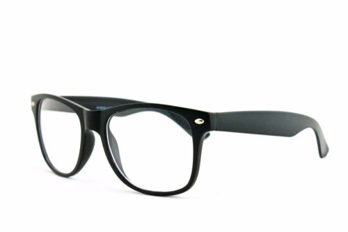 Nerdy Clear Lens Glasses for Costume Wear Multiple Colors