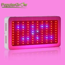 PopularGrow 300W LED Grow Light Full Spectrum Dimmable Plant Flower Growth bloom