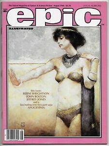Epic-Illustrated-25-Bernie-Wrightson-Marvel-1984-NM