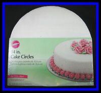 Wilton 14 Inch Cake Circles 6 Ct. Nip