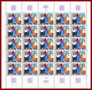 France-1986-ART-tableau-d-039-Alberto-Magnelli-feuille-MNH-Yv-2414-Mi-2553