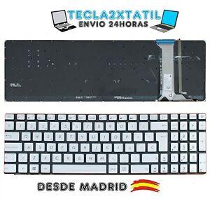 MARCO GRIS Ul30 U35 NEGRO TECLADO ESPAÑOL para portátil ASUS U31