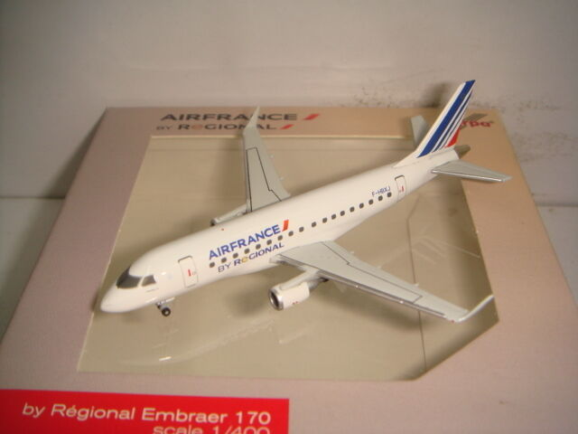 HERPA WINGS 400 AIR FRANCE Regional Action Figure Embraer ERJ-170  2009 S couleur -  1 400