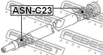 Arbre Moteur Joint Universel Febest ASN-C23