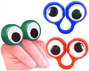 Googley-Eye-Rings-Funky-Boys-Girls-Party-Bag-Fillers-Turn-Fingers-Into-Face