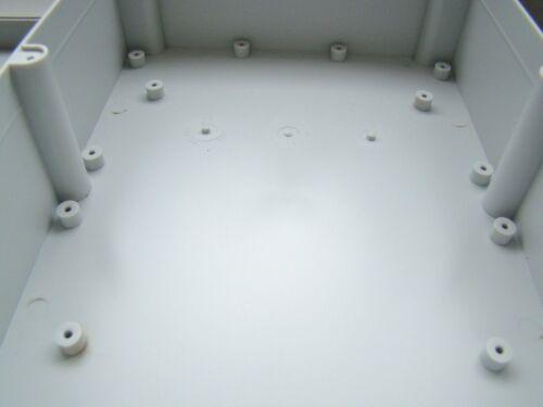 Grand case boîtier robuste project box 224x174x80MM pcb circuit housing KE90G