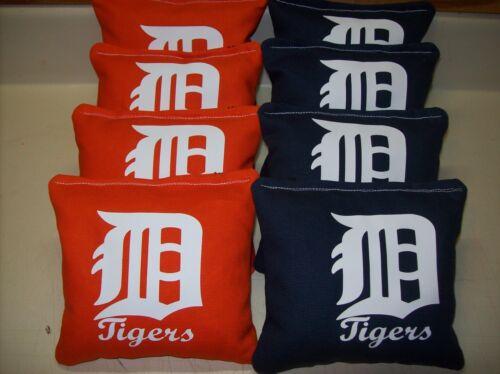 Detroit Tigers mlb 8 Custom Cornhole Bags