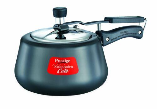 FS Prestige Nakshatra Cute Hard Anodized Aluminum Pressure Cooker 3 litres,