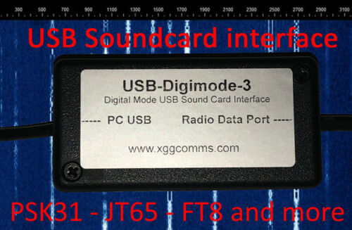 Yaesu USB Sound Card Digimode Interface PSK,JT65,FT8 FT-897,857,817,991 etc