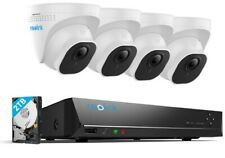 4K Security Camera System 8MP 8CH POE NVR Kit 7/24 Recording 2TB HDD RLK8-800D4