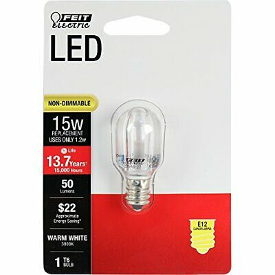 Puntuale Feit Electric Bpt6/su/led 15w Equiv T6 Warm White Special Use Non-dimmable Bulb Design Moderno