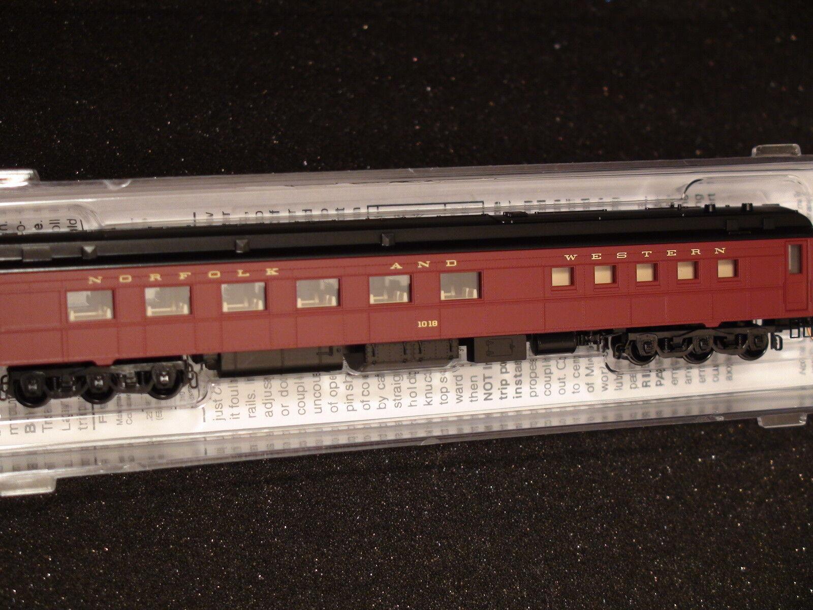 MICRO-TRAINS  146 00 180 NORFOLK & WESTERN DINER HEAVYWEIGHT CAR