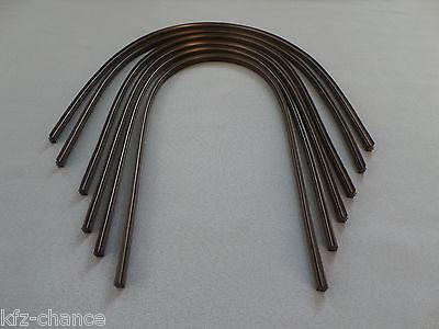 6 Wischergummis für Scheibenwischer BOSCH AeroTwin, Flach bis 700 mm